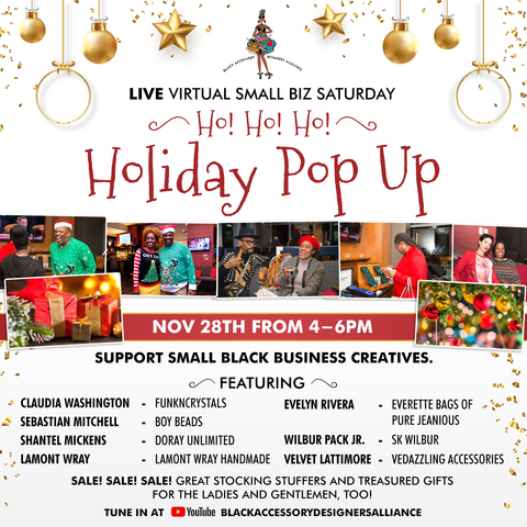 Live Virtual Holiday POPUP!