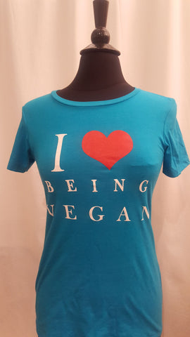I 💜 being Vegan Tee - Vedazzling Accessories