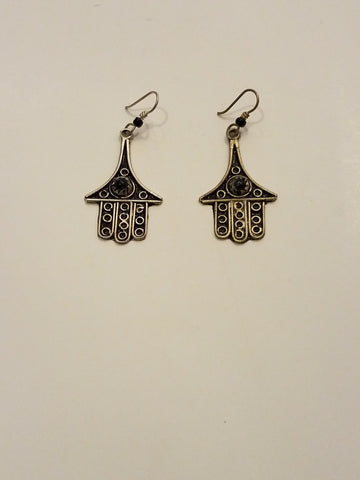 Hasma Earrings - Vedazzling Accessories