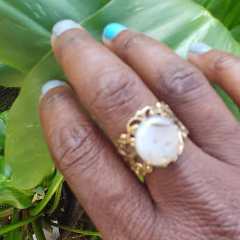 Clear Dreams Ring - Vedazzling Accessories