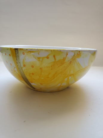 Canary Yellow Bowl - Vedazzling Accessories