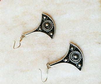 Morroccan Tri Earrings - Vedazzling Accessories