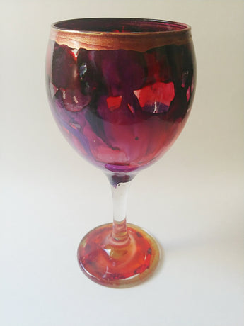 Decorative Wine Glass - Vedazzling Accessories