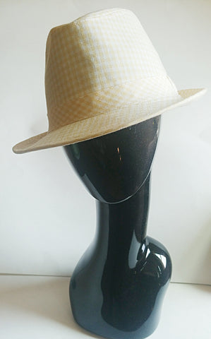 Gingham Summer Hat - Vedazzling Accessories
