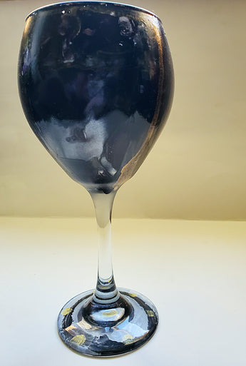 Onyx Wine Glass - Vedazzling Accessories