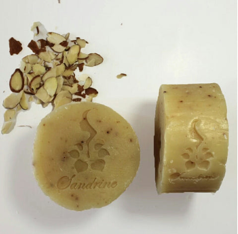 Sandrine Beauty Toasted Almond Soap - Vedazzling Accessories