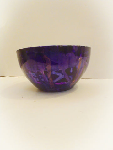 Handpainted bowl by Olivarri Art - Vedazzling Accessories