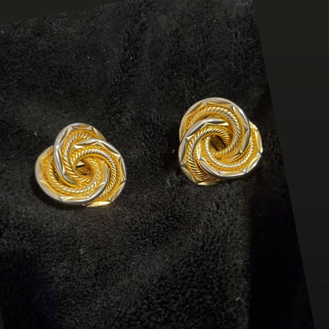 Vintage circle knot earrings - Vedazzling Accessories