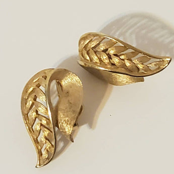 Vintage Angel Gold Earrings - Vedazzling Accessories