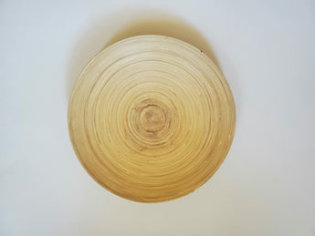 Vintage Bamboo Home Bowl