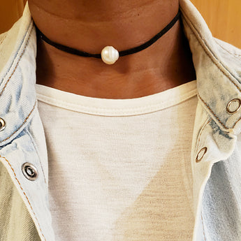 Pearl Ranch Choker Necklace