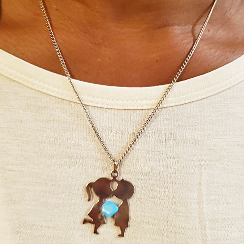 Lovers Turqouise Necklace