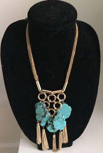 McKenzie Turqouise Necklace