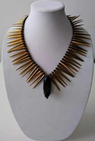 Mckenzie Gold Drip Necklace