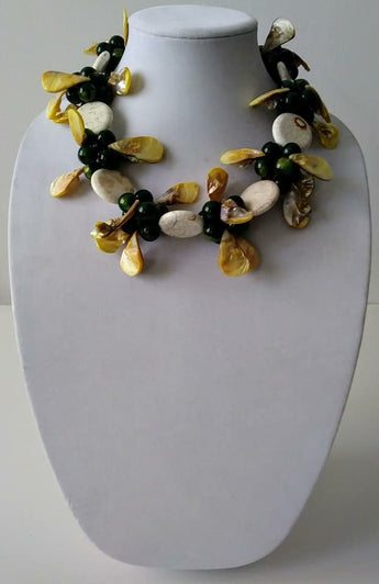 McKenzie White Necklace