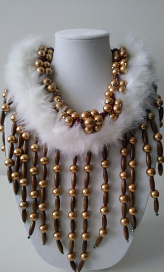 Mckenzie Gold Bean Necklace