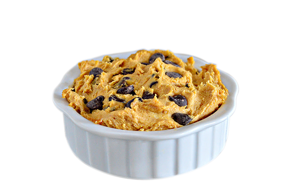 Pumpkin Spice Cookie Dough - World's Best Cookie Dough