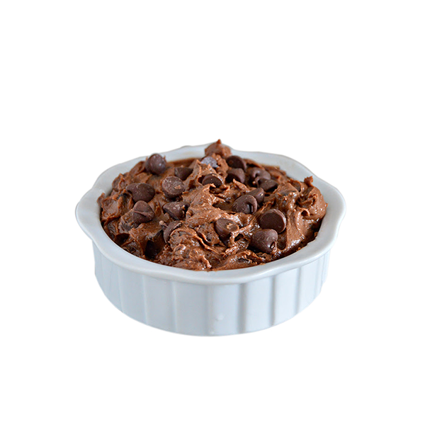 Dark Chocolate Cookie Dough - World's Best Cookie Dough