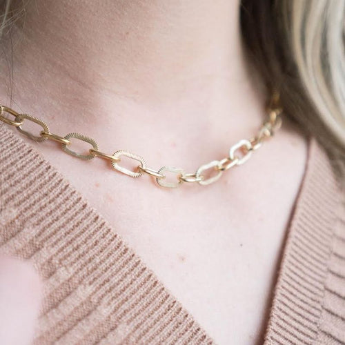 Strings For Hope: Bella Chain Necklace