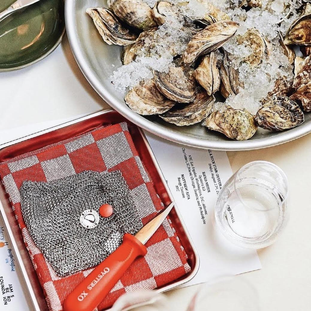 Oysters XO: Chef's Set Oyster Tool Kit