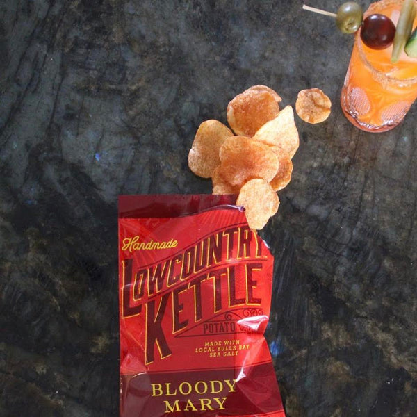 Lowcountry Kettle Chips: Bloody Mary Kettle Chips (12 Pack)