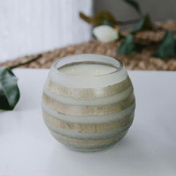 Ekko Candle Company: Lemon Lavender Stripes Candle