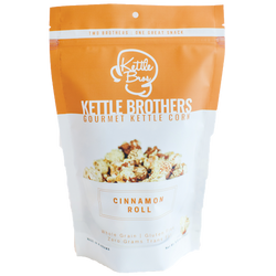 Kettle Brothers Gourmet Kettle Corn: Cinnamon Roll