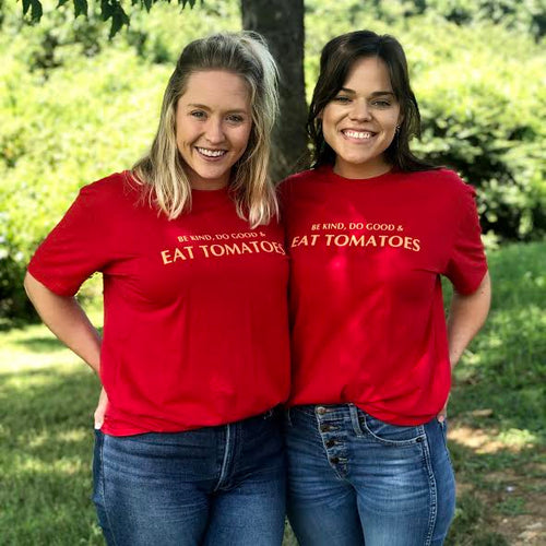 Be Kind Do Good & Eat Tomatoes T-shirt
