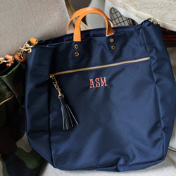 South of Hampton: Parker Nylon Tote
