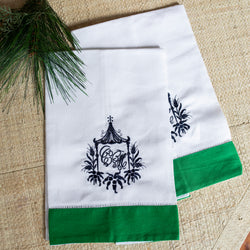 South of Hampton: Linen Hand Towels