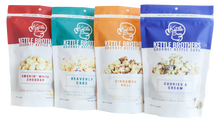 Kettle Brothers Gourmet Kettle Corn: 4 Pack Flavor Sampler - SB Shop