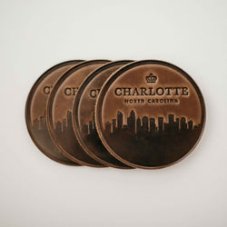 Clayton & Crume: Charlotte, North Carolina Coasters