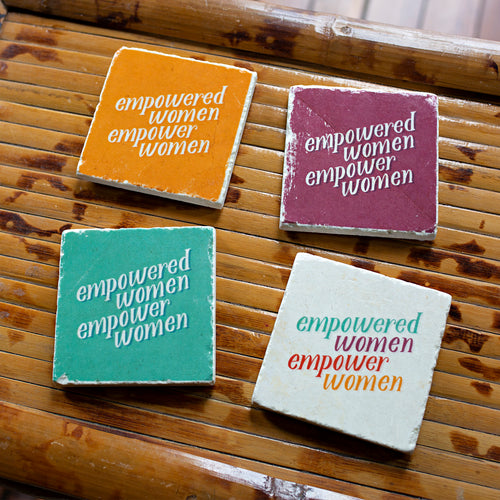 ARCHd: Empowered Women Empower Women Marble Coasters - SB Shop