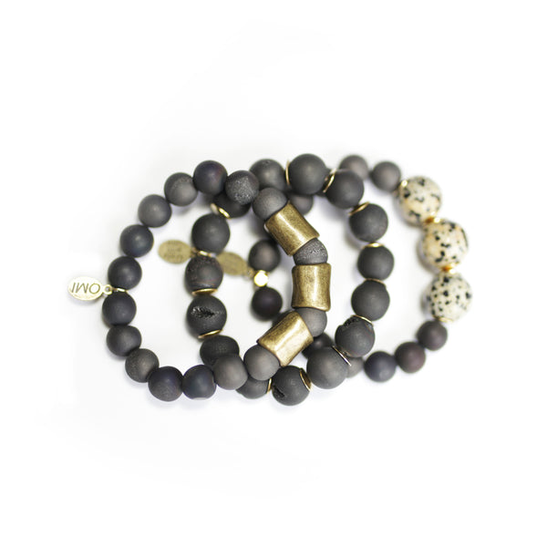 SB + OMI Beads: The Jasper Set