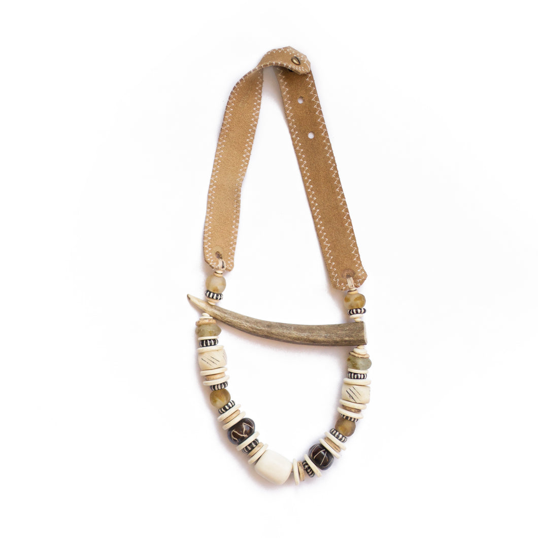 Antler Tip Classic Necklace