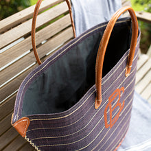 South of Hampton: Pin-Stripes Hand Woven Bag - SB Shop