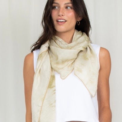 Natalie Busby: Big Silk Scarves