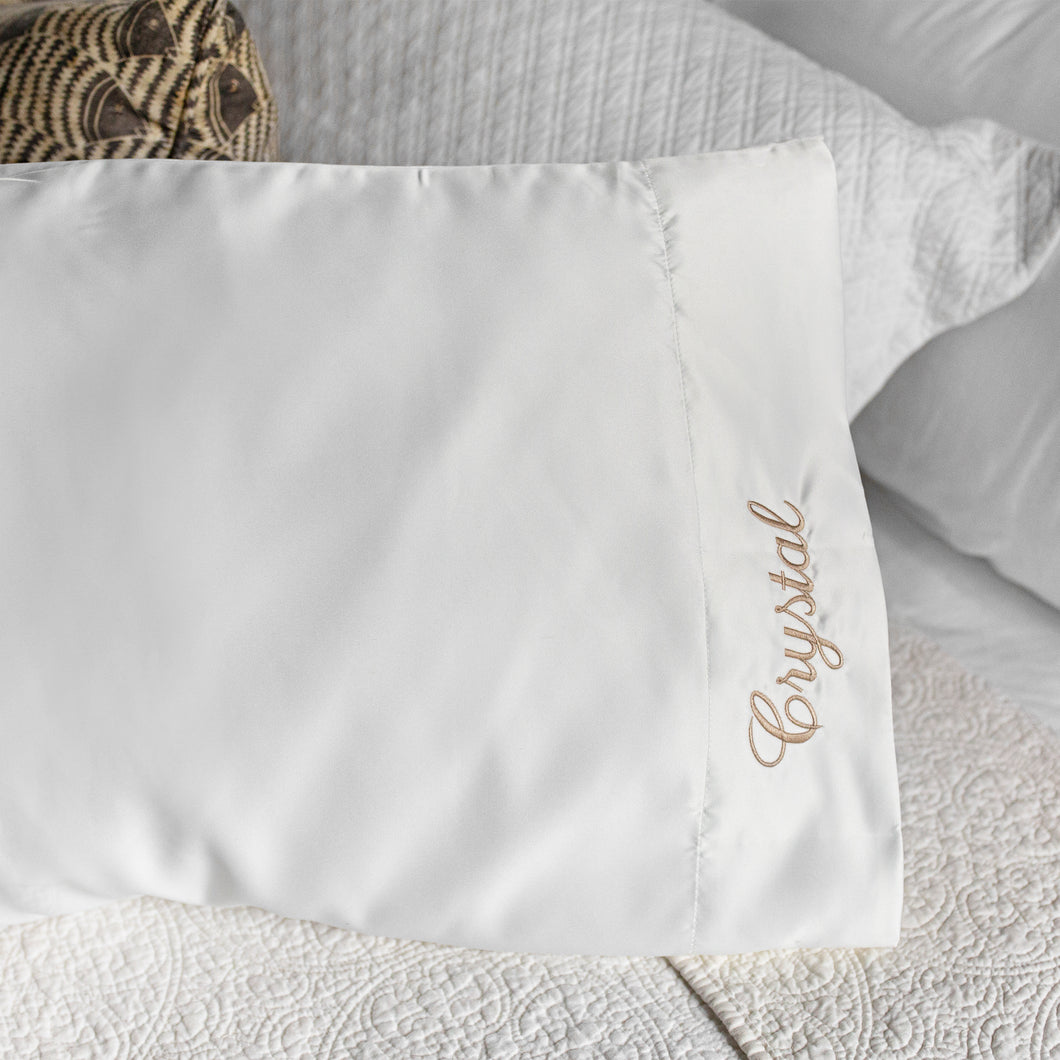 South of Hampton: Personalized Satin Pillowcase - SB Shop