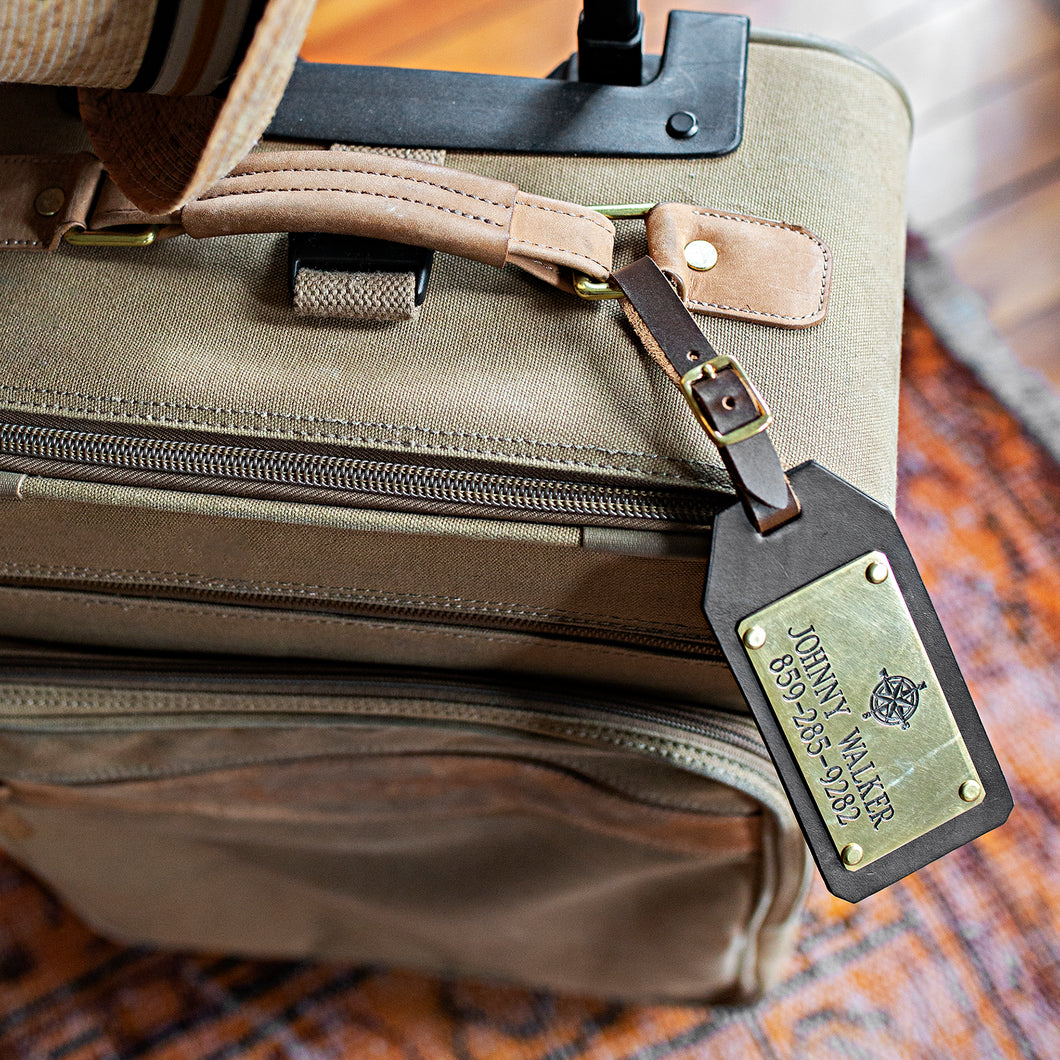 Bluegrass Belts: Customized Luggage Tag - SB Shop