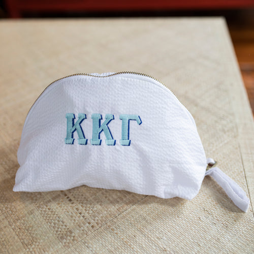 South of Hampton: Waffle Bag with Sorority Letters