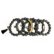 SB + OMI Beads: Black Neutral Set