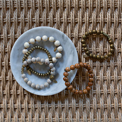 SB + OMI Beads: Neutral Set of Five