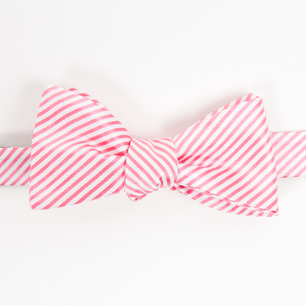 Collared Greens: Men's Bow Tie (Signature Stripe)