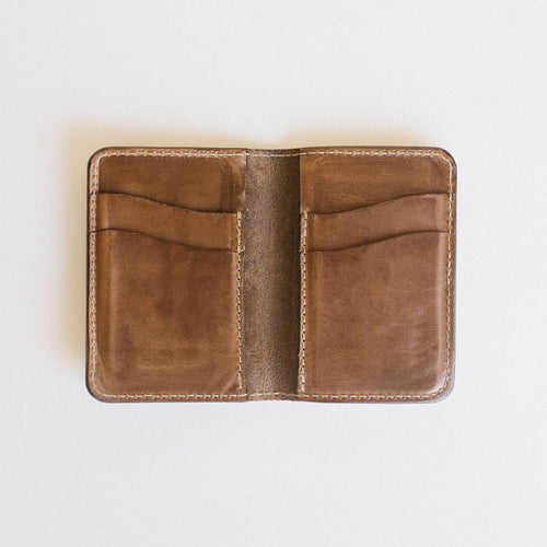 Clayton & Crume: Monogrammed Everyday Bifold Wallet