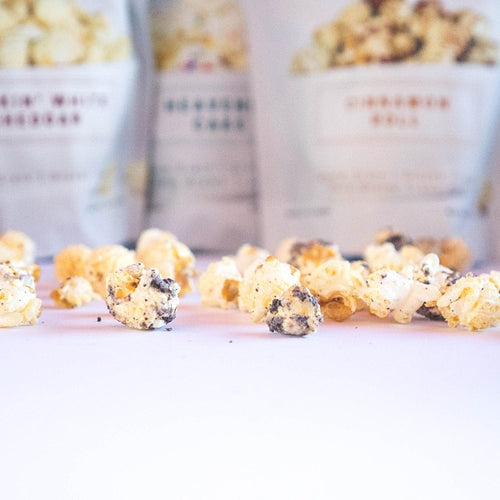 Kettle Brothers Gourmet Kettle Corn: 4 Pack Flavor Sampler