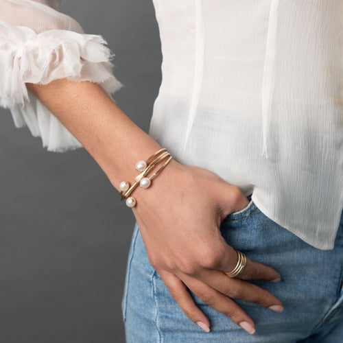 Carden Avenue: The Dueling Pearl Cuff - SB Shop