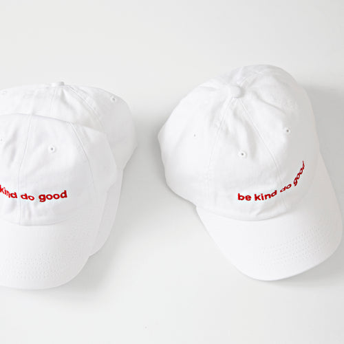 'be kind do good' Hat