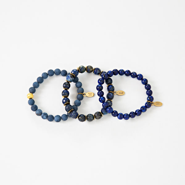 SB + OMI Beads: Blue Set
