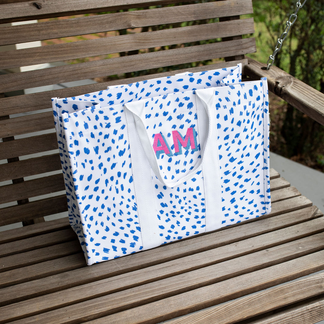 South of Hampton: Spot On Tote & Cosmetic Bag Set