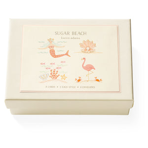 Karen Adams Designs: Sugar Beach Note Card Box